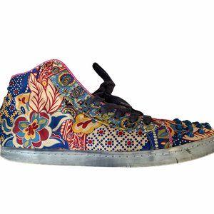 Colors of California Graphic Design Hi Top Sneaker